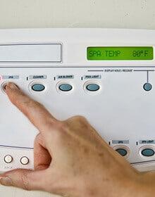 Spa Control Panel